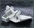 Zinc Die Casting of a Fuel Injection Bracket